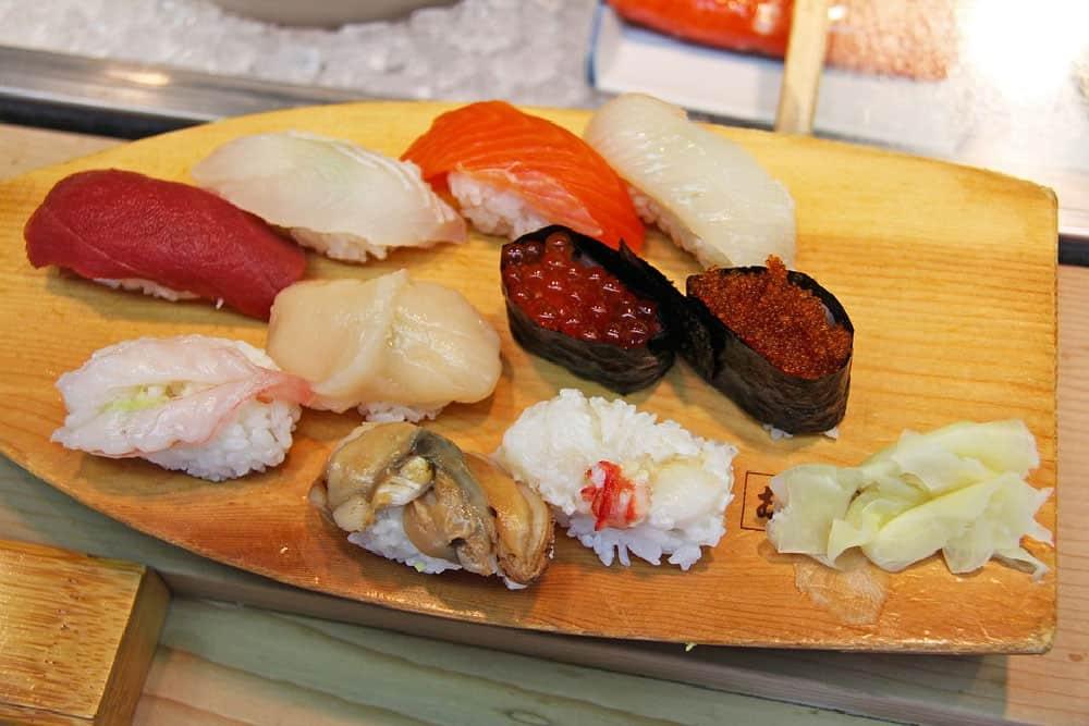 Sushi at Otaru