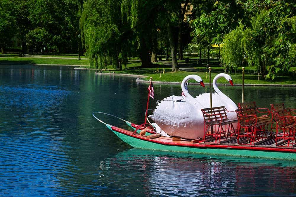 Swat Boat at Boston Public Garden