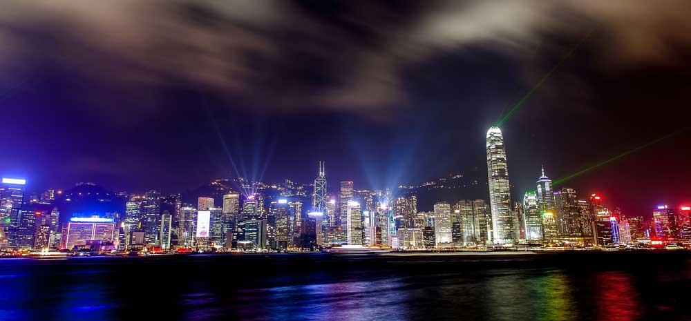 Symphony of Light in Hong Kong