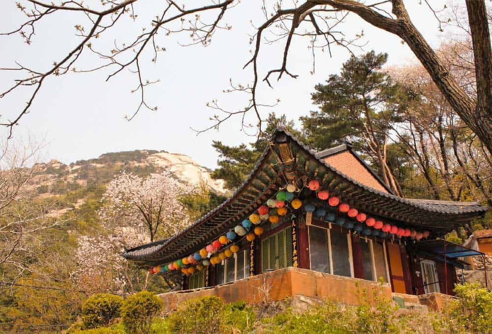 Temple at Bukhansan, Seoul