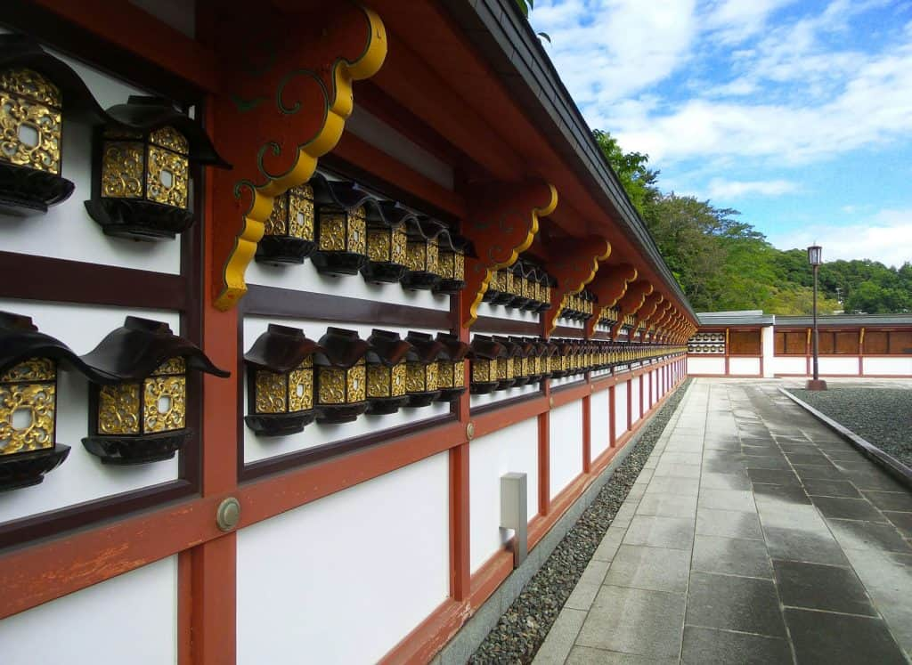 Temple in Narita, Japan