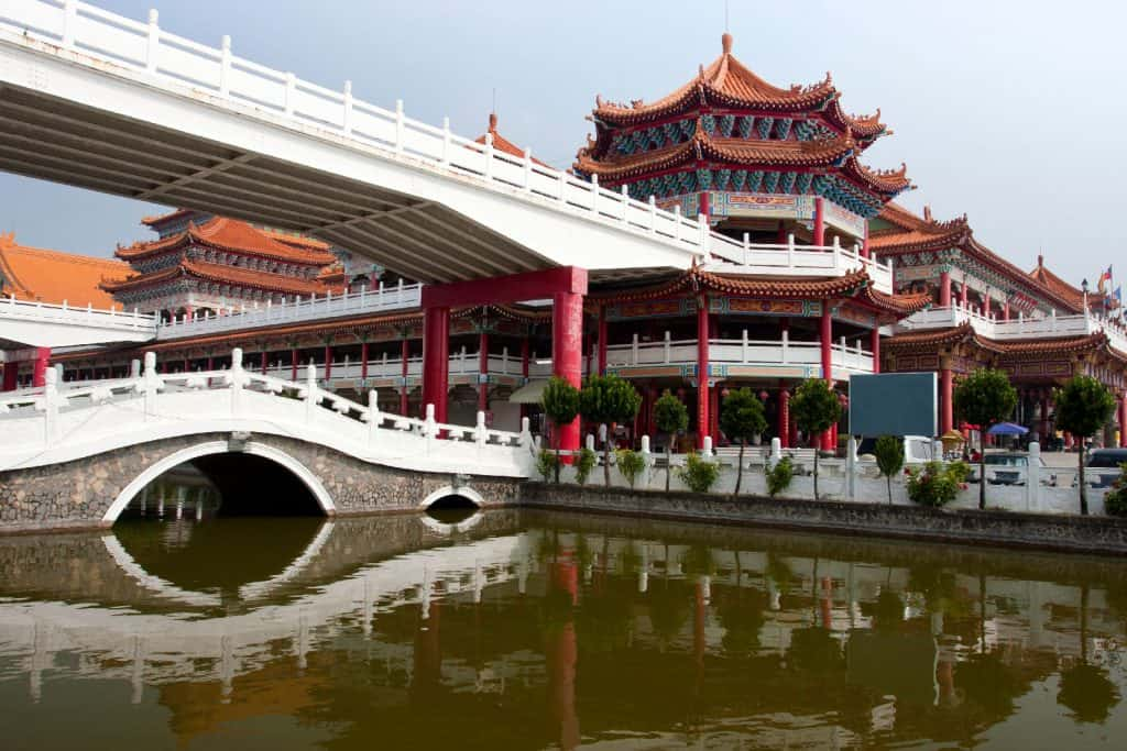 Shengmu Temple in Luermen, Tainan, Taiwan