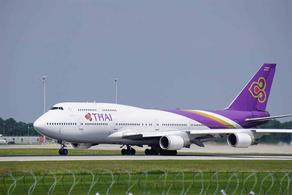 Thai Airways Airplane