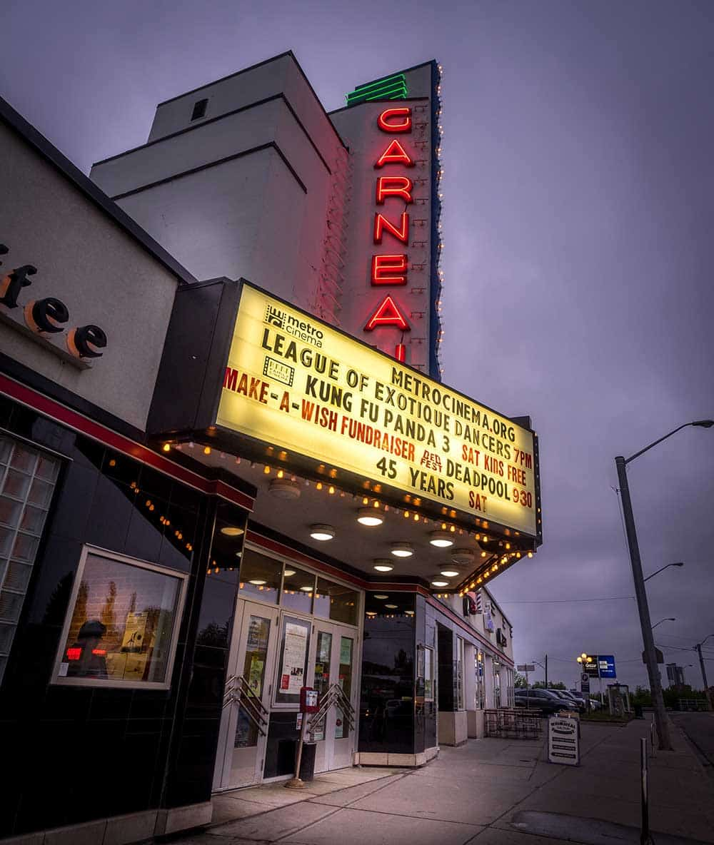 Theatre in Old Strathcona