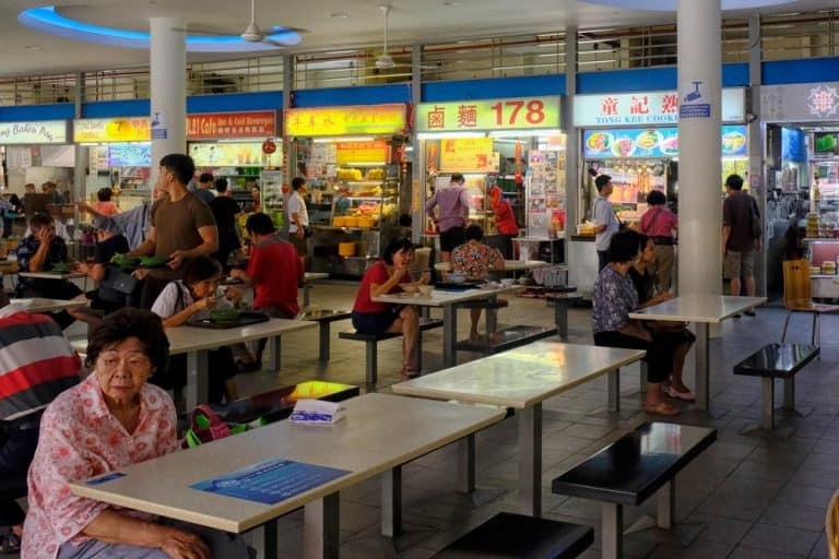 Tiong Bahru Market & Food Centre in Singapore