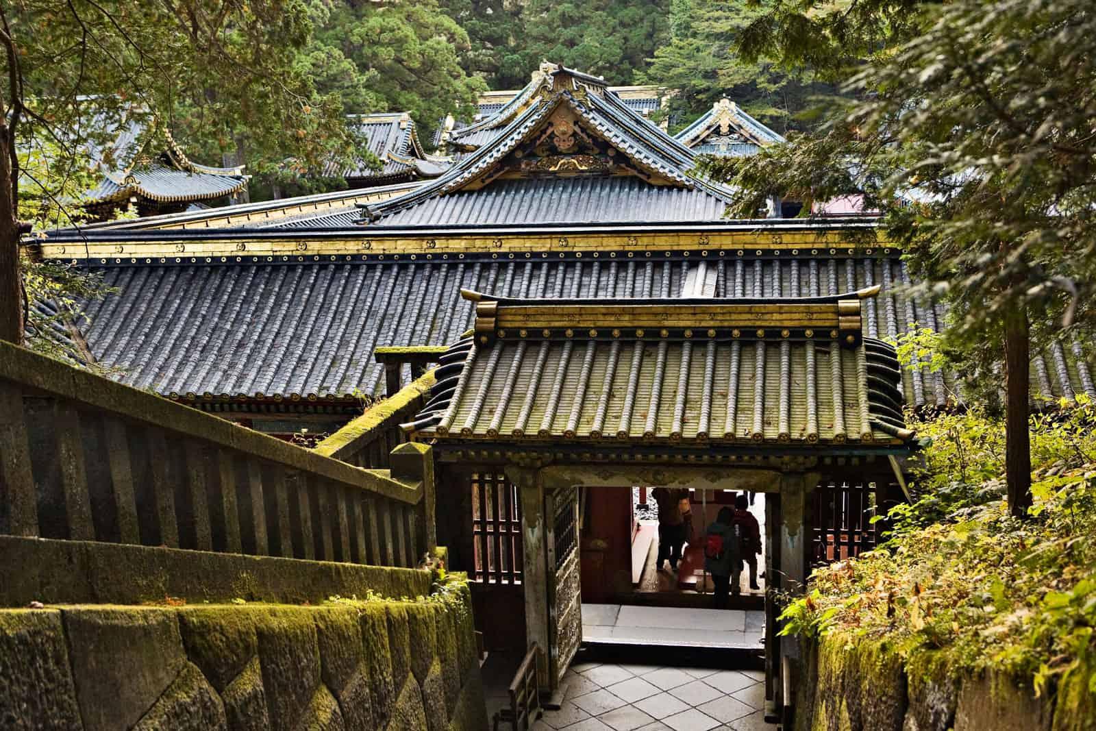 Toshogu in Nikko, Japan