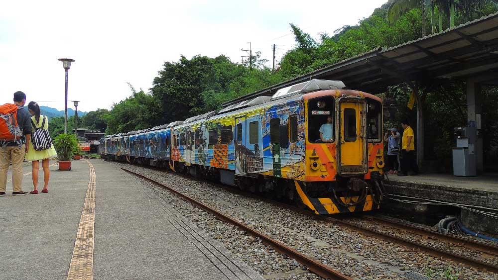 Train @ Shifen, Taiwan