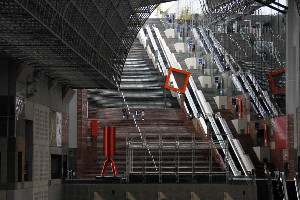 Train Station in Kyoto