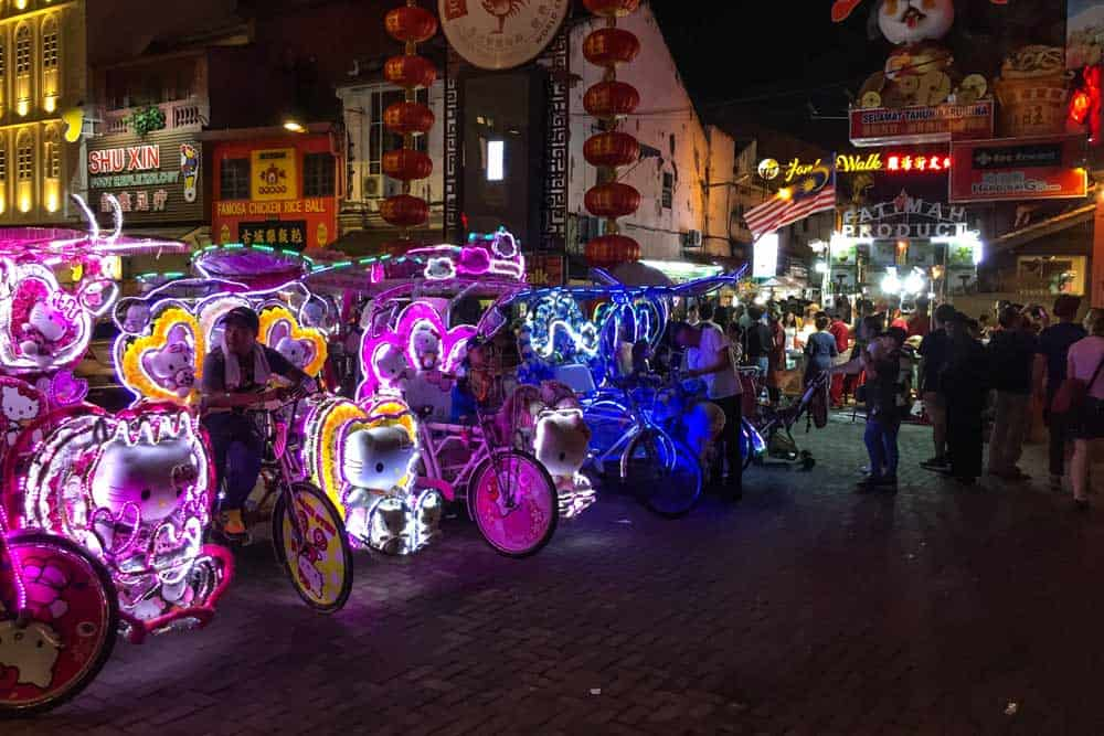 Trishaws @ Jonker Walk Night Market