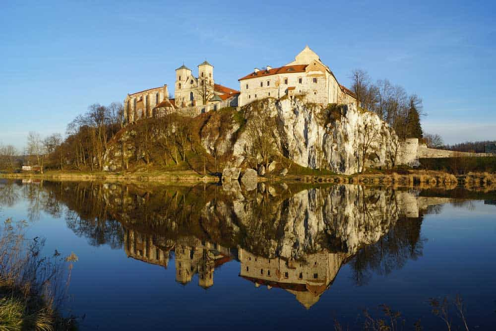 Tyniec Abbey near Krakow, Poland