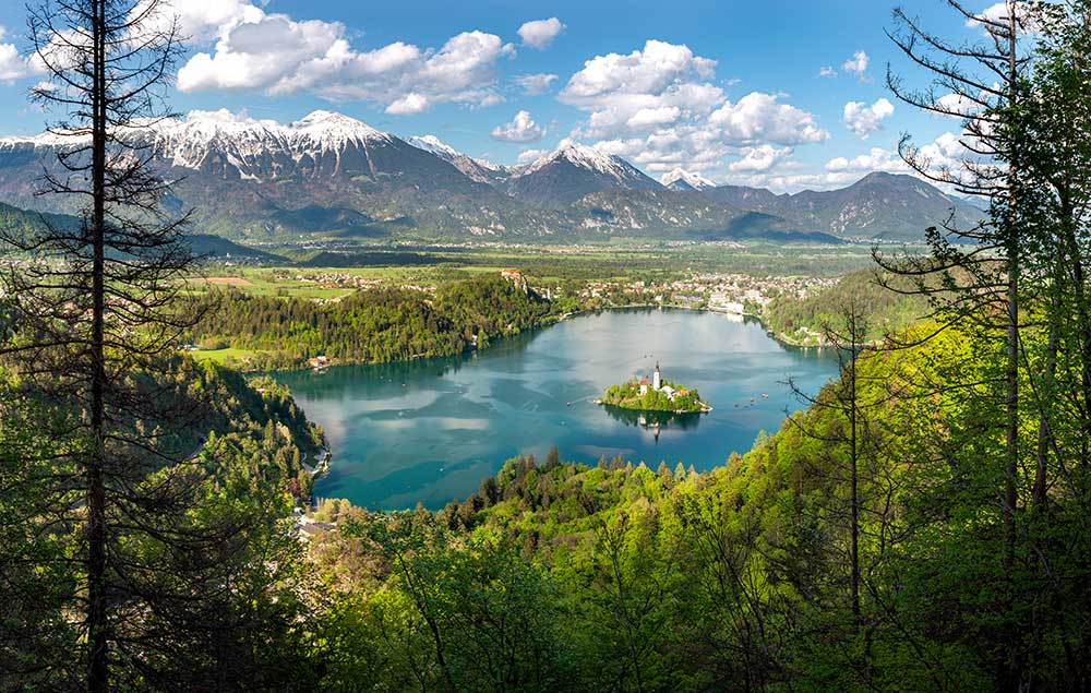 View from Mala Osojnica