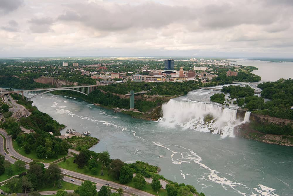 View from Skylon Tower