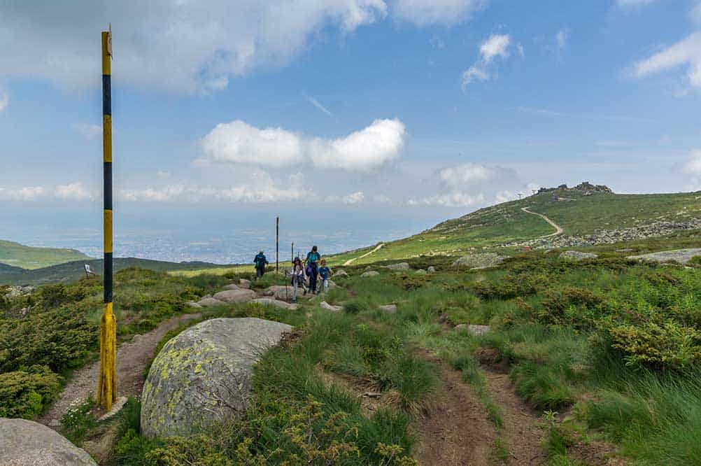 Vitosha Mountain near Sofia, Bulgaria
