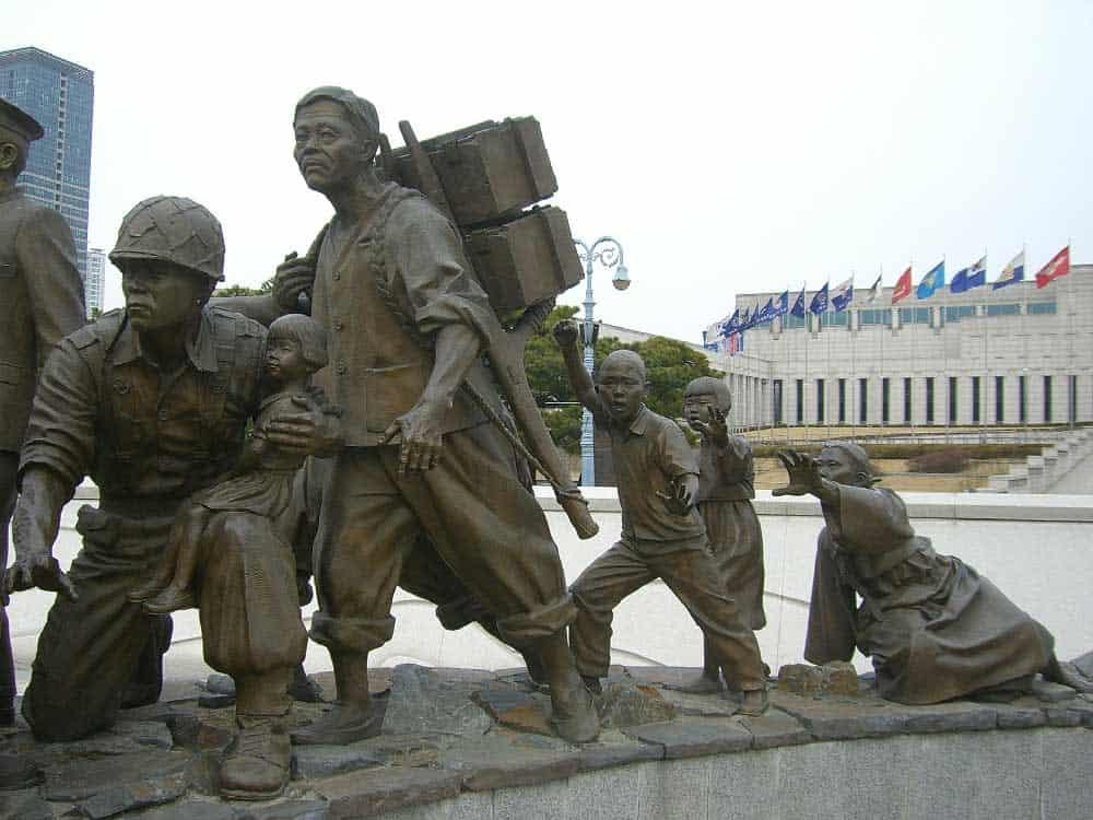 War Memorial in Yongsan-gu