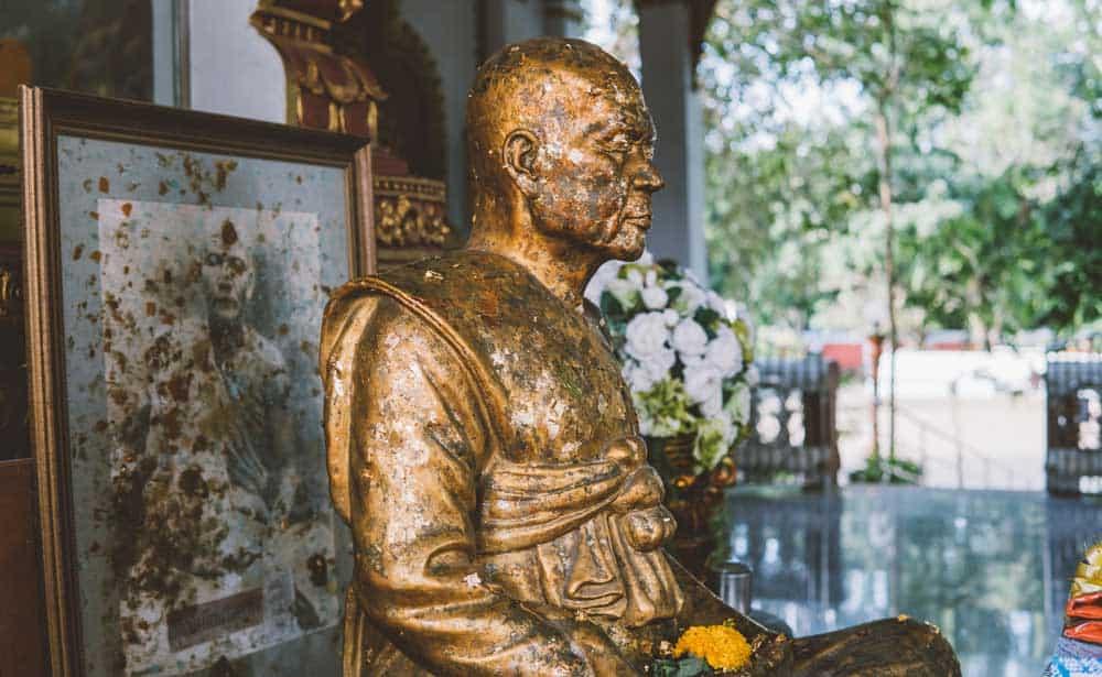 Wat Khunaram in Koh Samui