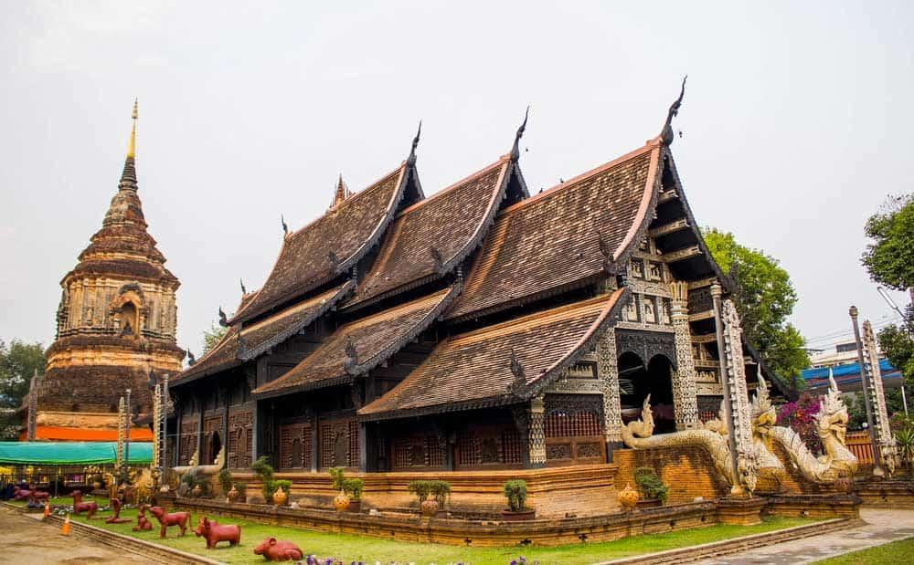 Wat Lok Moli in Chiang Mai, Thailand