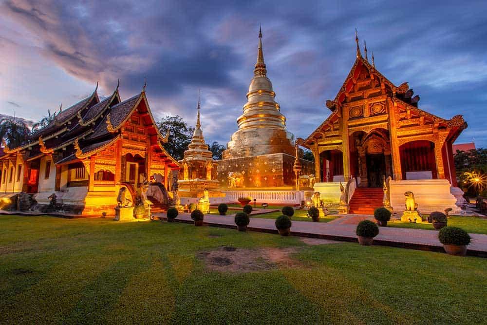Wat Phra Singh Old Town