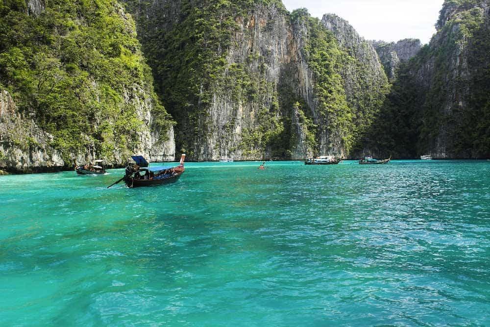 Water & Boats @ Ko Phi Phi