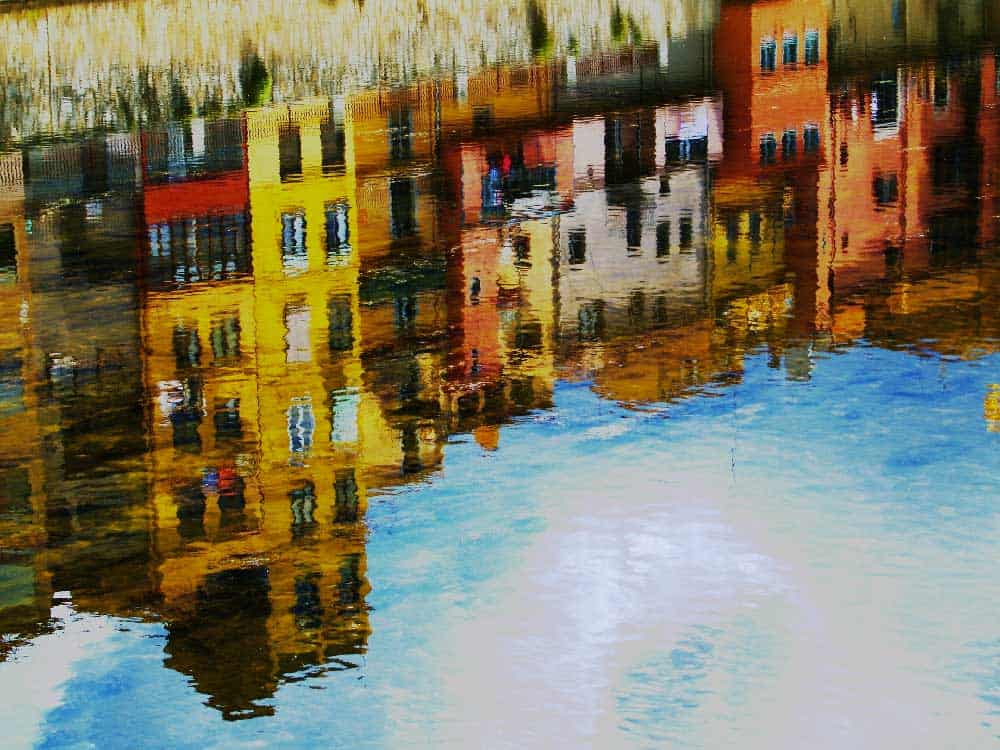 Water Reflection Girona Spain