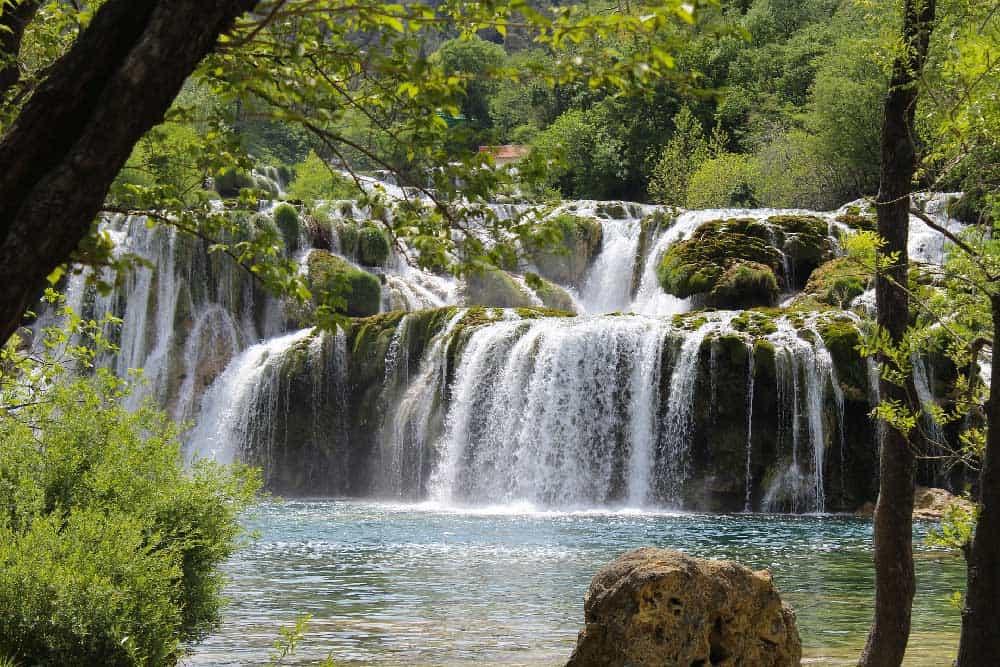 Waterfall Krka National Park