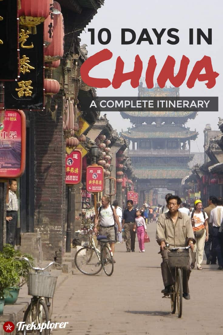 Need some ideas for what to do in China? Plan out your trip with this complete 10-day China itinerary including suggestions on where to go, things to do, what to eat & where to stay #china #eastasia #travel