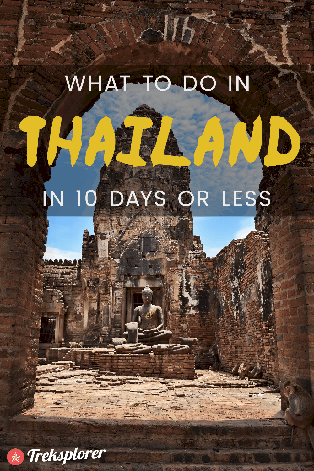 Need some ideas for what to do in Thailand? Plan out your trip with this complete 10-day Thailand itinerary including suggestions on where to go, things to do, what to eat & where to stay #thailand #southeastasia #travel