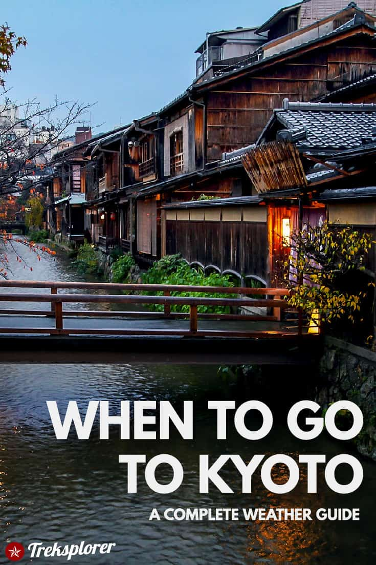 Can't wait to visit Kyoto? Figure out the best time to visit Kyoto with this complete guide featuring tips for when to go & what to do by month and by season! #kyoto #japan #travel
