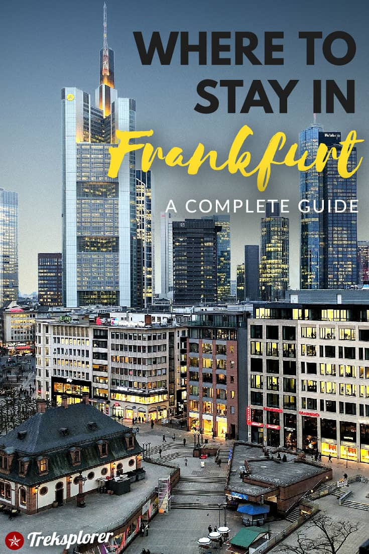 Deciding where to stay in Frankfurt, Germany? Get help with this complete guide to the best places to stay in Frankfurt including a summary of the best areas, neighbourhoods, and best hotels in Frankfurt for travellers. #frankfurt #germany #europe #accommodations