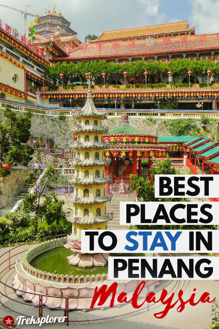 Deciding where to stay in Penang, Malaysia? Get help with this complete guide to the best places to stay in Penang including a summary of the best areas and best hotels in Penang. #penang #malaysia #southeastasia #accommodations