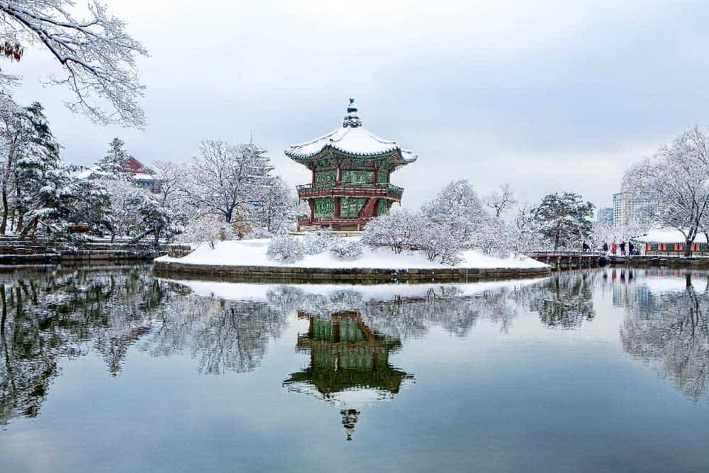 Winter @ Gyeongbokgung Palace in Seoul