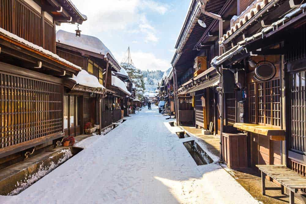 Winter in Takayama, Japan