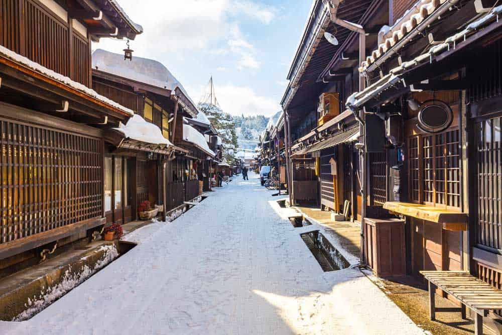 Winter in Takayama