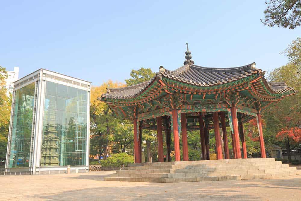 Wongaksa Pagoda Tapgol Park