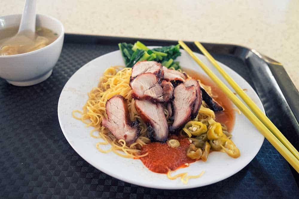 Wonton Noodles @ Tiong Bahru Maret