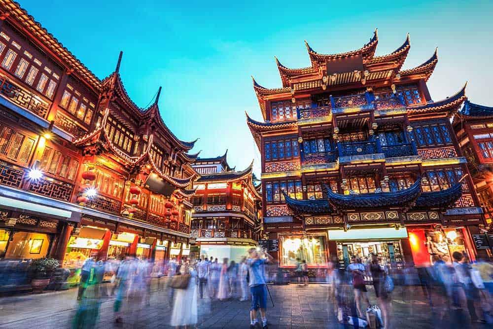 Yuyuan Bazaar in Shanghai