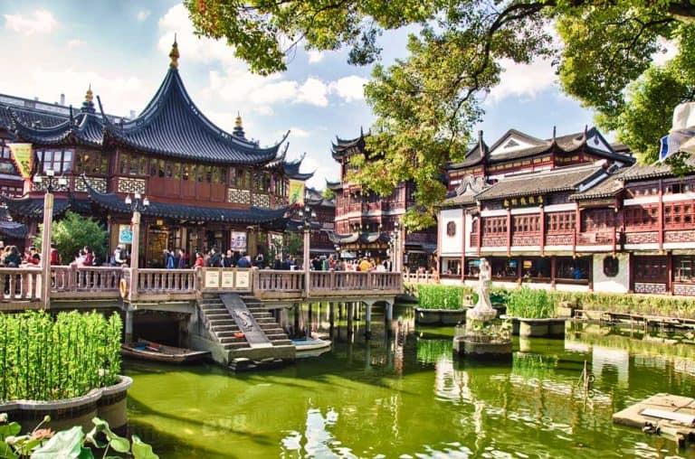 Yuyuan Garden in Shanghai, China